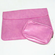 For Dell Inspiron 11 3168 11.6in PU Leather Envelope Sleeve Carry Bag Cover
