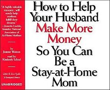How To Help Your Husband Make More Money 3-CD Audiobook - NEW - FREE SHIPPING
