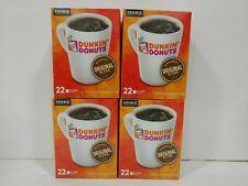 Keurig K-Cups Dunkin Donuts Original Blend Medium Roast Coffee-88- Fast shipping