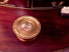Boîte bijoux en laiton à décor d'une scène romantique - DIEDISHEIM Nantes 44