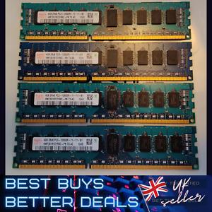 Hynix 4GB DDR3 1600MHz Desktop PC RAM PC3 12800R Memory 240pin 2Rx8 TESTED