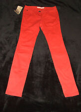 TOM TAILOR PANTALON FEMME EXTRA SKINNY TAILLE W25/ L32  (TAILLE FR 34/35) ROUGE
