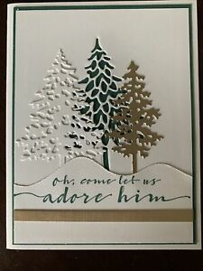 Stampin Up In The Pines Card Kit