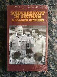Schwarzkopf In Vietnam A Soldier Returns VHS New Sealed