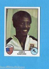 SPORT SUPERSTARS/EURO FOOTBALL 82-PANINI-Figurina n.2- SANFORD - USA -Rec