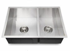 Square Edge 680*450*200 mm Kitchen Sink Laundry Sink stainless steel hand made