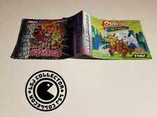Scooby-doo - gameboy advance - notice