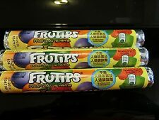 Nestle Frutips Fruit Gum Candy 3 rolls 48g