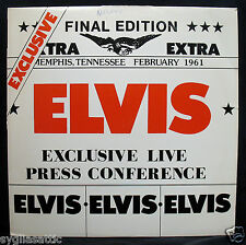 ELVIS PRESLEY-EXCLUSIVE LIVE PRESS CONFERENCE FROM FEBRUARY 1961