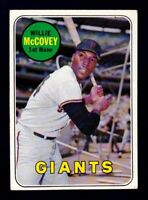 1969 Topps #440 Willie McCovey / San Francisco Giants / NM near mint cond