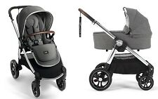 Mamas & Papas 2017 Ocarro Stroller & Bassinet Bundle in Grey Twill New!