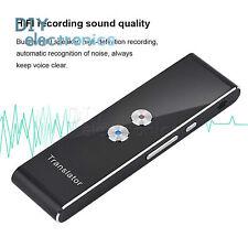 Multi-Language Smart Voice Translator Two-Way Real Time Translation 40+ L2Kd