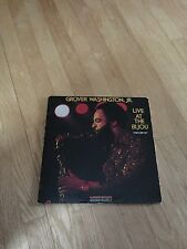 Grover Washington,JR. Live At The BIJOU (1977) LP/33 Very Good Condition!