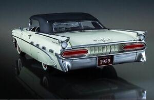 Franklin/Danbury mint 1:24 1959 Pontiac bonneville classic model boxed rare 118