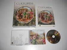 CULTURES 1 Pc Cd Rom Original BIG BOX - FAST , SECURE POST