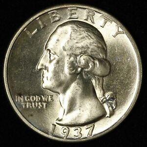 1937-D 25c Washington Quarter - Free Shipping USA