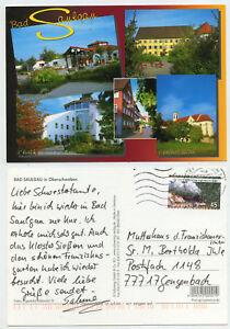 47712 - Bad Saulgau in Oberschwaben - Ansichtskarte, gelaufen