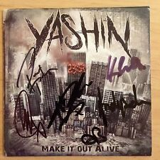 Yashin - Make It Out  Alive Signed Cd Autographed