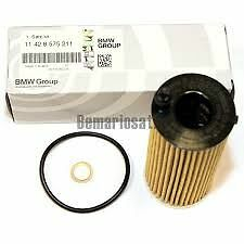 Oil Filter Genuine BMW F20 F22 F30 F32 F10 X3 F25 X4 X5 F15 11428575211