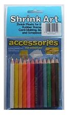 12 SHRINK ART SPECIAL COLOUR PENCILS PACK PREFECT FOR COLOURING SHRINKLES 1905