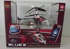 NEW PROPEL RC SKY BLUETOOTH 3 CHANNEL WIRELESS INDOOR HELICOPTOR RED/WHITE