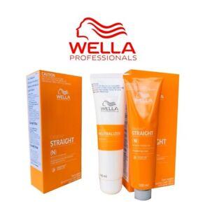 100 ml Wella Professional Hair Straightener Normal to resistant Hair (N ) +Track