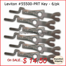 Leviton #55500-PRT - Tamper Proof Electrical Switch Key - (6/pack)