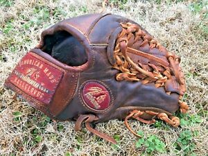 "Nokona AMG-1150 American Baseball pro 11.5"" Inch glove R-H  leather used USA"