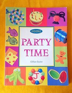 Party Time by Gillian Souter FREE AUS POST Very Good Used Condition Paperback 99