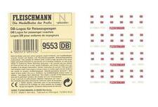 4 x FLEISCHMANN piccolo 9553 DB-Logos für Reisezugwagen Ep V/VI Spur N 1:160 NEU