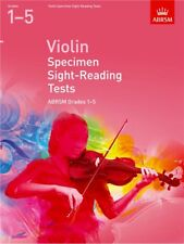 ABRSM Specimen Sight Reading Tests Violin Grades 1-5