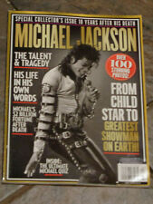 COLLECTOR'S EDITION MICHAEL JACKSON 10 YEARS AFTER DEATH 2019  MAGAZINE  NEW
