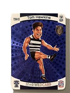 AFL TeamCoach 2021 Tom Hawkins Trophy Star Wildcard Geelong