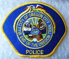 City of Oregon 1844 End of the Oregon Trail City US Police Patch (NEW, 90x110mm)