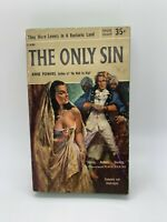 The Only Sin Anne Powers 1956 Popular Vintage Romance PB Sleaze Sex Art Steamy