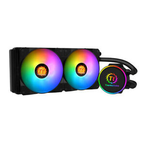 240mm AIO ThermalTake X240 All In One CPU Cooler RGB LED 240mm water cooler
