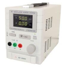 Adjustable Linear DC Bench Power Supply 0-50V 0-3A Variable CSI5003XE