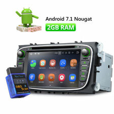 Android In-Dash Monitor Vehicle DVD Players for Ford