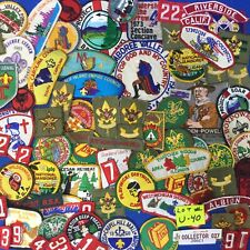 Boy Scout 70+ Patches OA CSP Jamboree SOAR Rank Scoutmaster Camp Mixed Lot # U40