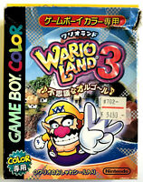 Wario Land III 3 - Nintendo Game Boy Color - En boite - NTSC-J / JAP