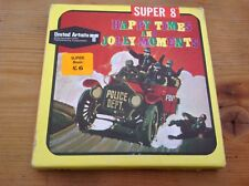 Vintage Super 8 mm Film HAPPY TIMES AND JOLLY MOMENTS B/W HOME MOVIE