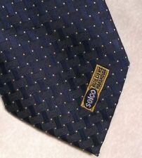 Vintage Tie MENS Necktie Company Logo Crested Club SELCO BUILDERS WAREHOUSE