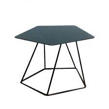 BONALDO tavolino Tectonic grigio antracite h35 piano in lamiera piena sala TC96