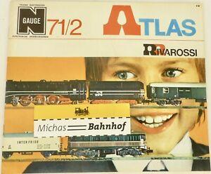 Atlas Rivarossi Catálogo 71/2 N Calibre Å