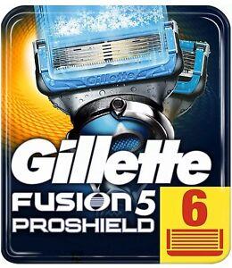 Gillette Fusion 5 PROSHIELD CHILL Rasierklingen 6 er Pack  NEU & OVP