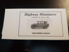 360-222 Jordan Highway Miniatures 1926 Ford Essex Coach HO Sealed