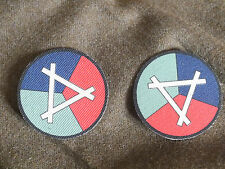 Airfield Construction Group reproduction printed badges WWII for Battledress