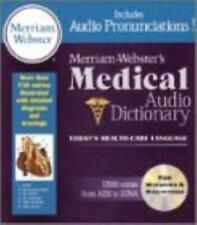 Merriam-Webster's Medical Audio Dictionary PC MAC CD health terms pronunciations