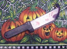 BLEEDING Costume Knife Prop Bloody Plastic Halloween  14 INCH