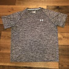 mens under armour xl heat gear tshirt Grey Loose Fitted